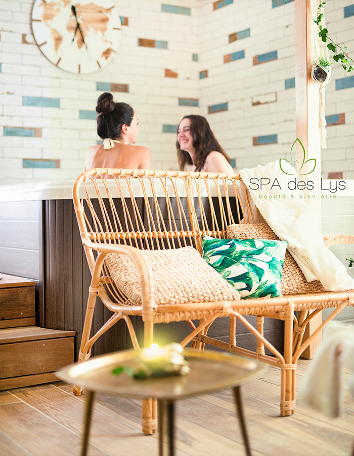 Le spa du SPA des Lys Annecy Argonay