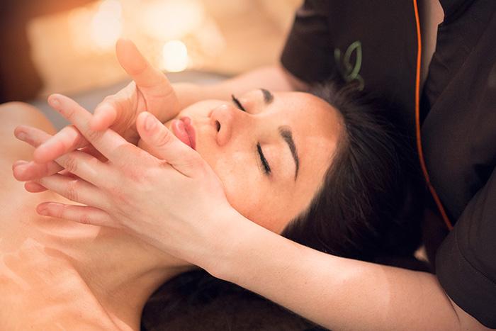 massage thai huile